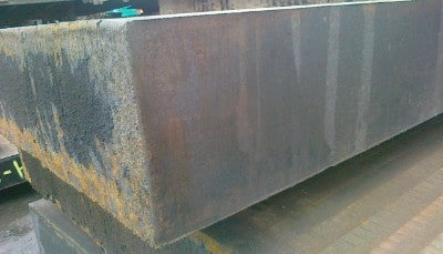 Лист стальной 25 мм - 50 мм